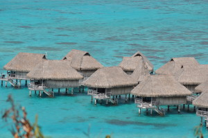 Overwater bungalows are alluring but stationary.