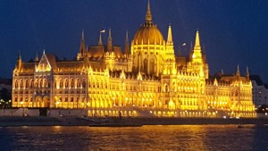 Hungary's Waterfront Parliament sparkles